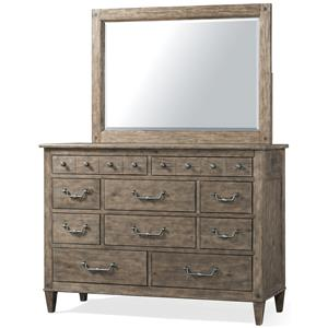 Carolina Preserves by Klaussner Riverbank Dresser and Mirror