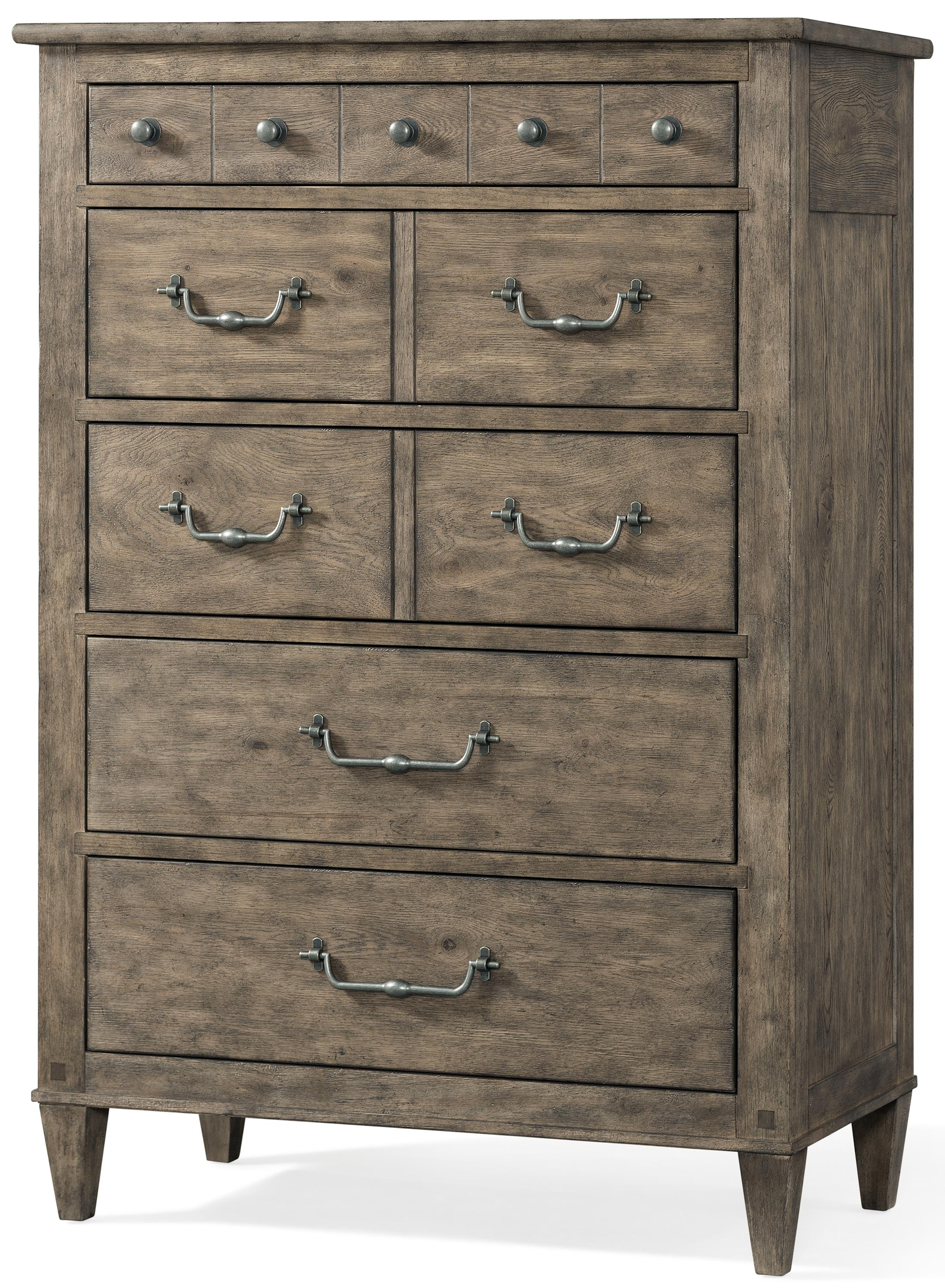 Morris Home River Falls River Falls Drawer Chest - Item Number: 451-681 CHEST