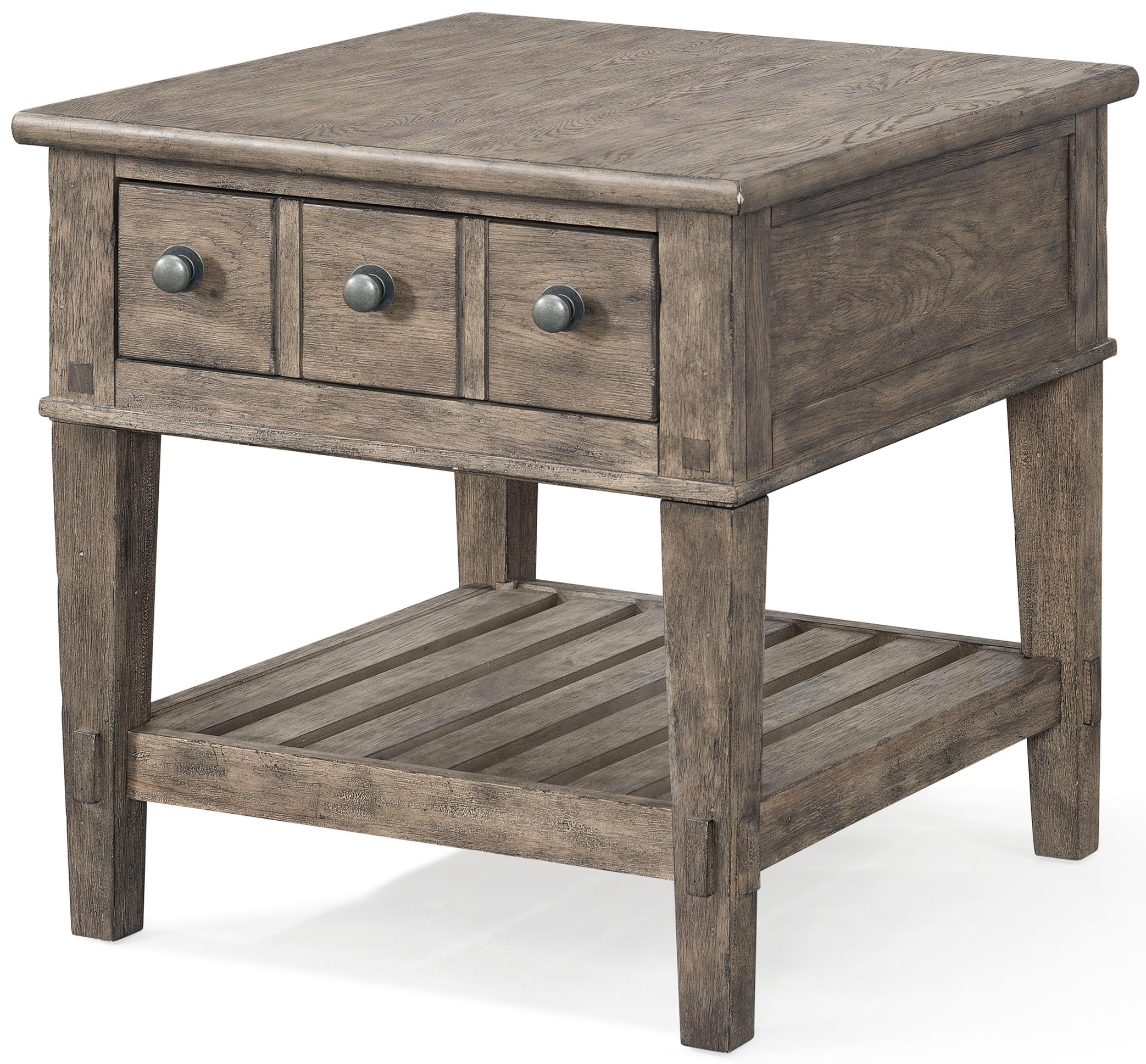 Carolina Preserves by Klaussner Riverbank End Table - Item Number: 451-809 ETBL