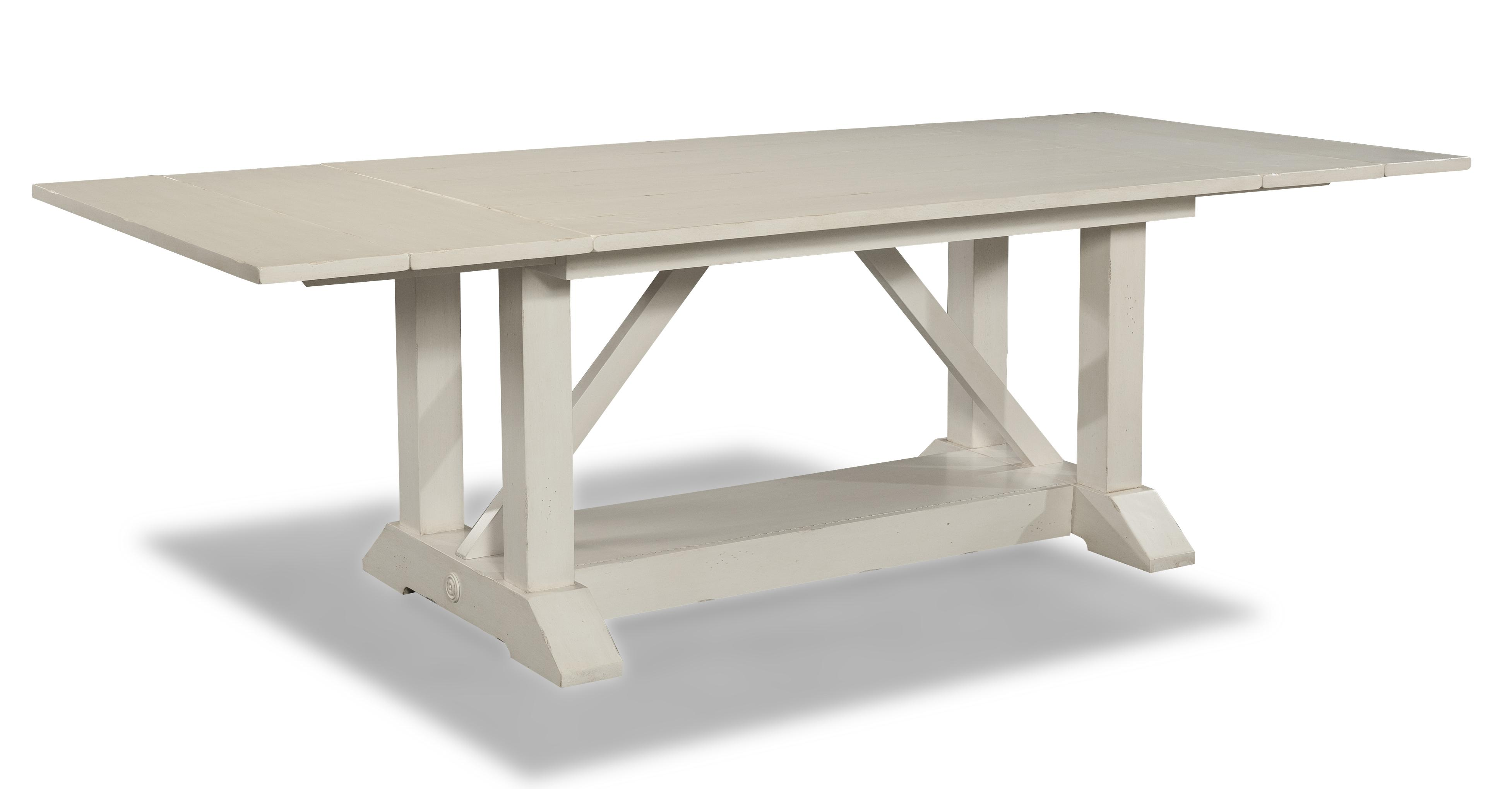 Easton Collection Sea Breeze 78'' Trestle Table - Item Number: 424-096 DRT