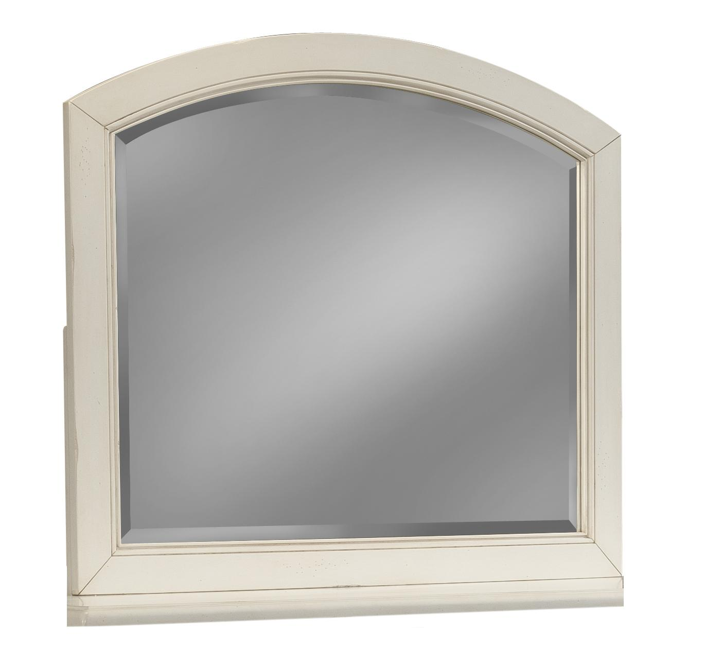 Easton Collection Sea Breeze White Arched Mirror - Item Number: 424-660 MIRR