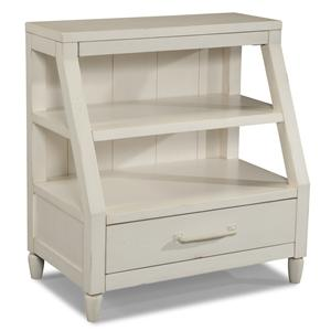Carolina Preserves by Klaussner Sea Breeze Sweet Dreamer-White Shelf Nightstand