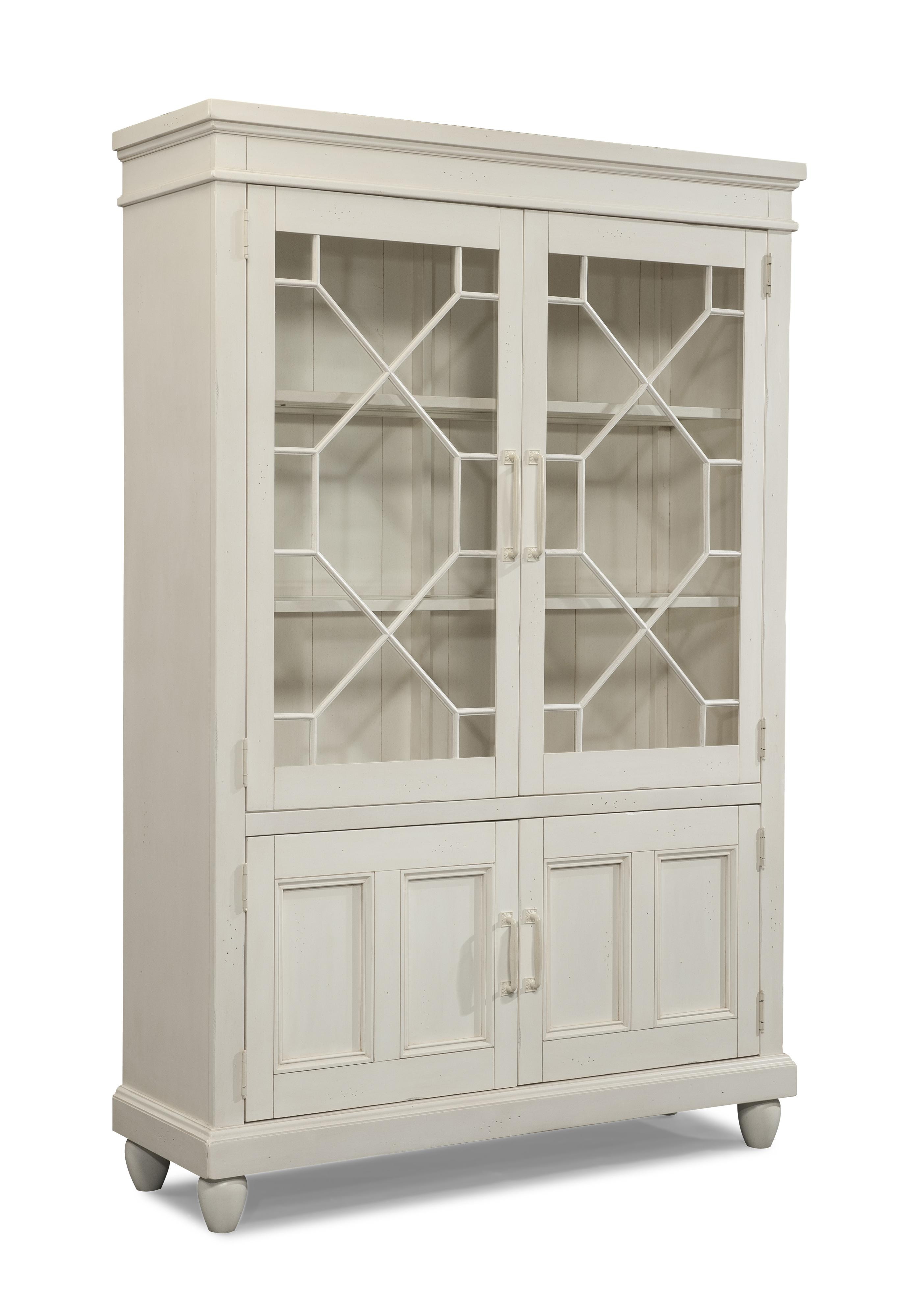 Easton Collection Sea Breeze Blossom-White Curio - Item Number: 424-892 CURI