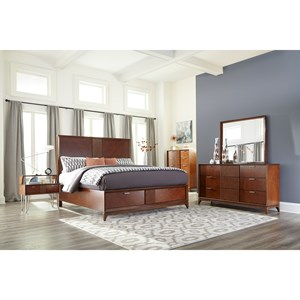 Carolina Preserves by Klaussner Simply Urban King Bedroom Group