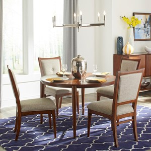 Carolina Preserves by Klaussner Simply Urban 5 Pc Dining Set