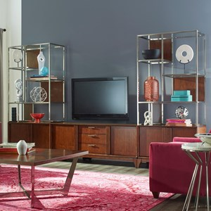 Carolina Preserves by Klaussner Simply Urban Entertainment Wall Unit