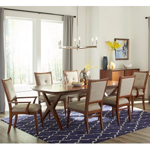 Carolina Preserves by Klaussner Simply Urban 7 Pc Dining Set