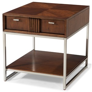 Carolina Preserves by Klaussner Simply Urban Union Square End Table