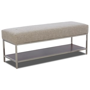 Carolina Preserves by Klaussner Simply Urban Avondale Upholstered Bench