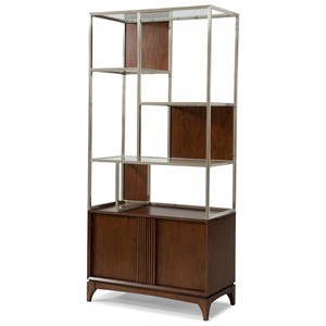 Carolina Preserves by Klaussner Simply Urban Plaza Display Cabinet