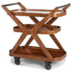 Carolina Preserves by Klaussner Simply Urban Metro Bar Cart