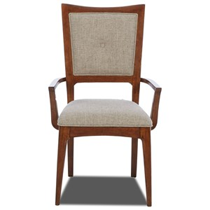 Carolina Preserves by Klaussner Simply Urban Upholstered Arm Chair