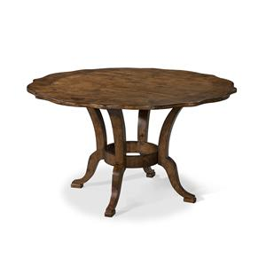 Carolina Preserves by Klaussner Southern Pines 54 Inch Round Dining Table