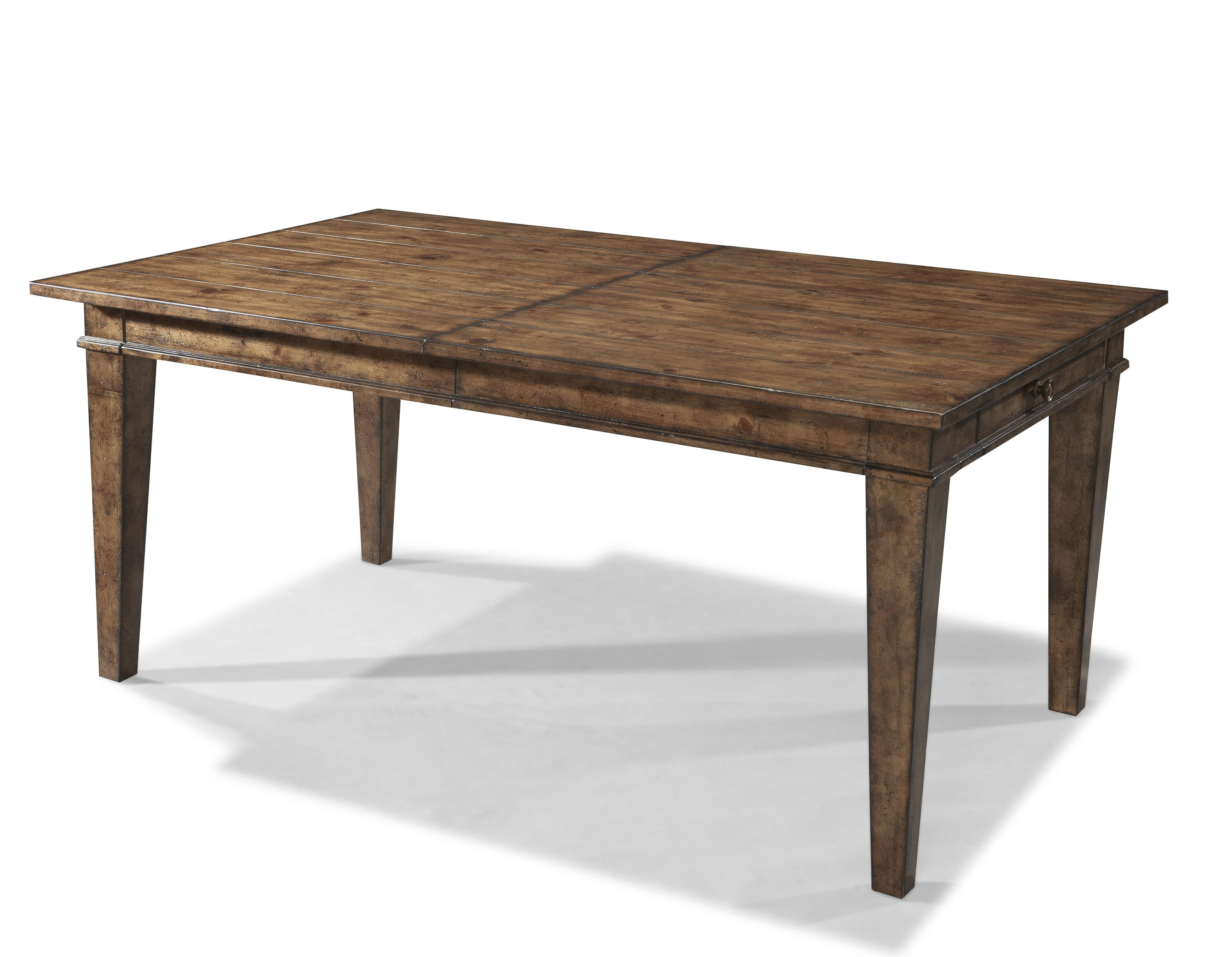 Easton Collection Farmhouse Dining Room Table - Item Number: 436-086 DRT