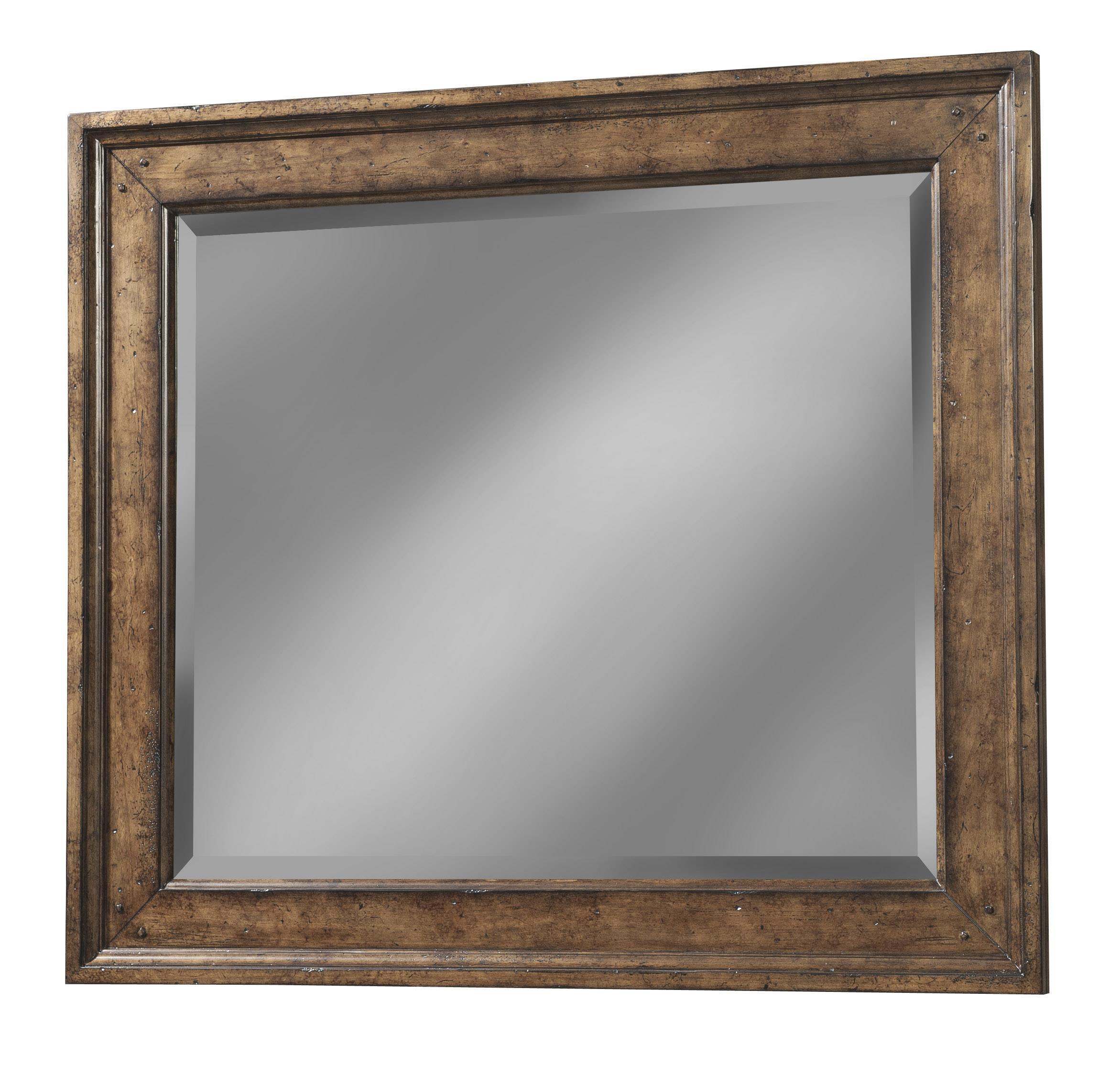 Easton Collection Farmhouse Landscape Mirror - Item Number: 436-660 MIRR