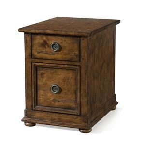 Carolina Preserves by Klaussner Southern Pines Ross Drawer Chairside Chest