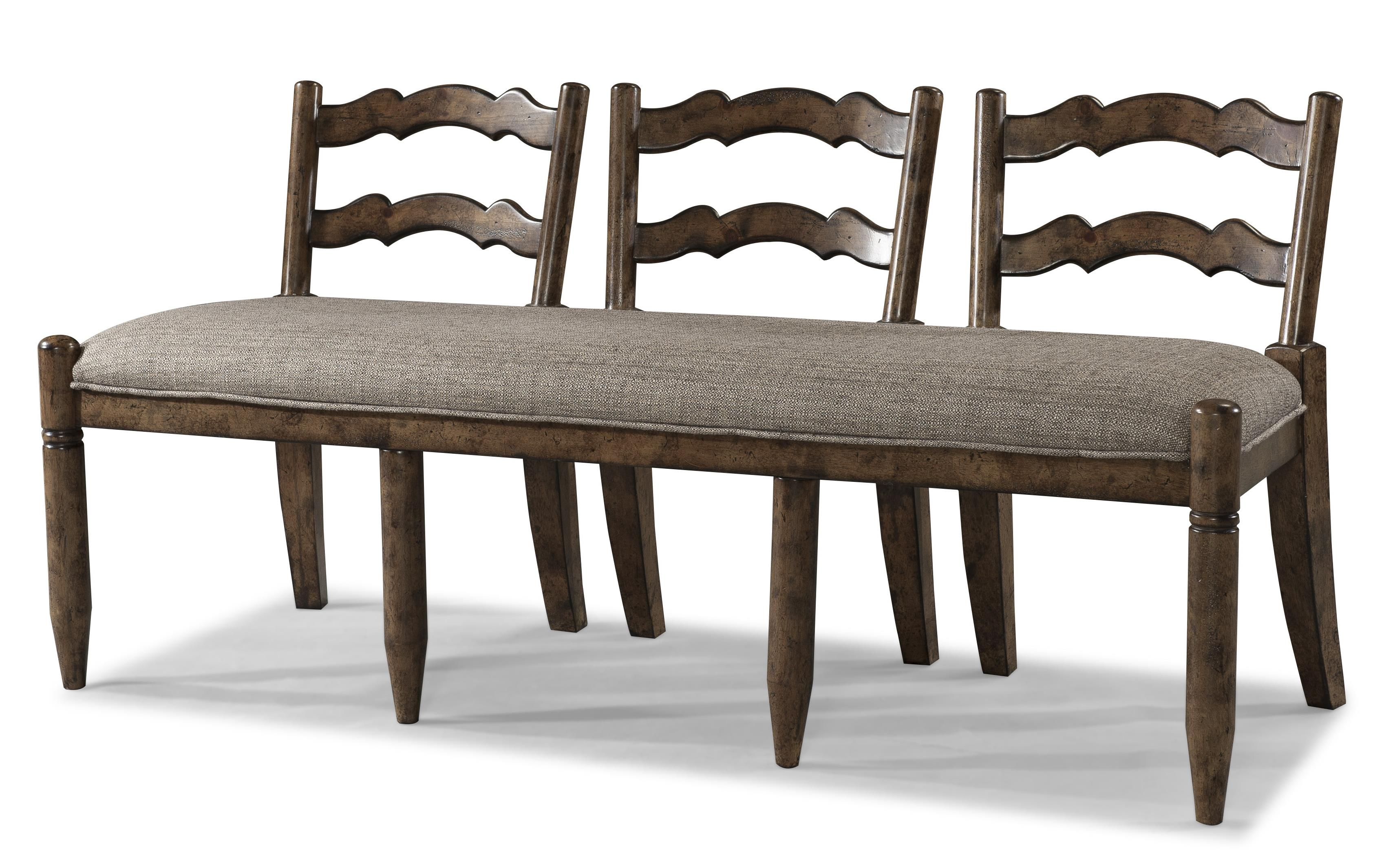 Easton Collection Farmhouse Ladderback Dining Bench - Item Number: 436-824 BENCH