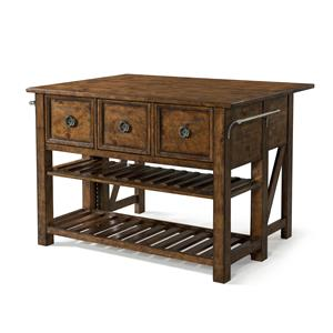 Carolina Preserves by Klaussner Southern Pines Loblolly Kitchen Island
