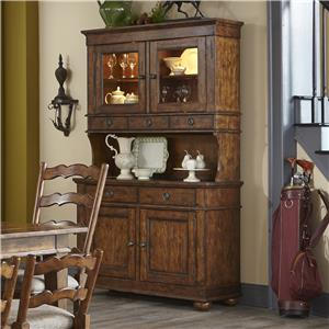 Carolina Preserves by Klaussner Southern Pines Buffet with Hutch