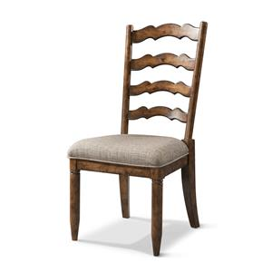 Carolina Preserves by Klaussner Southern Pines Ladderback Side Chair