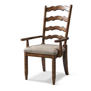 Carolina Preserves by Klaussner Southern Pines Ladderback Arm Chair