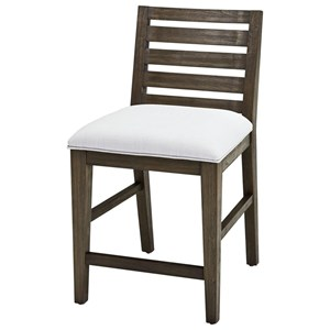 Belfort Select District Slat Back Café Chair