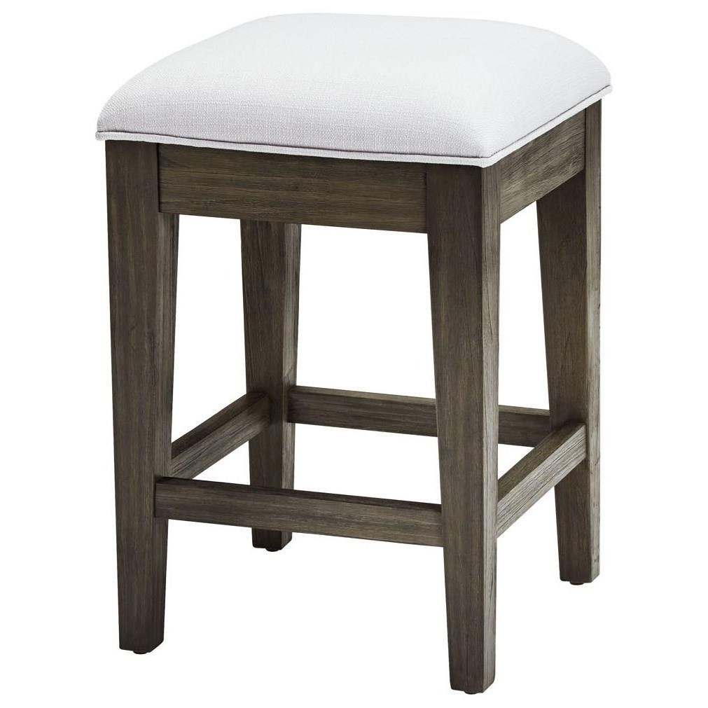 Belfort Select District Caf 233 Stool With Upholstered Seat