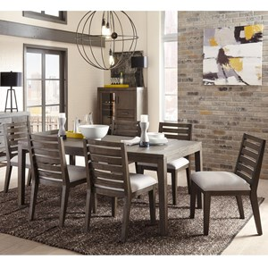 Belfort Select District 7 Piece Dining Set