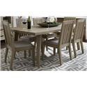Morris Home Furnishings West Wood Westwood 5-Piece Dining Set - Item Number: 104112838