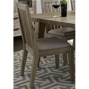 Morris Home Furnishings West Wood West Wood Slat Back Side Chair
