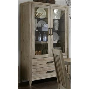 Morris Home Furnishings West Wood West Wood Curio Unit