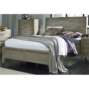 Morris Home Furnishings West Wood Westwood Queen Panel Bed