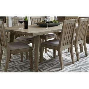 Morris Home Furnishings West Wood West Wood Rectangle Dining Table