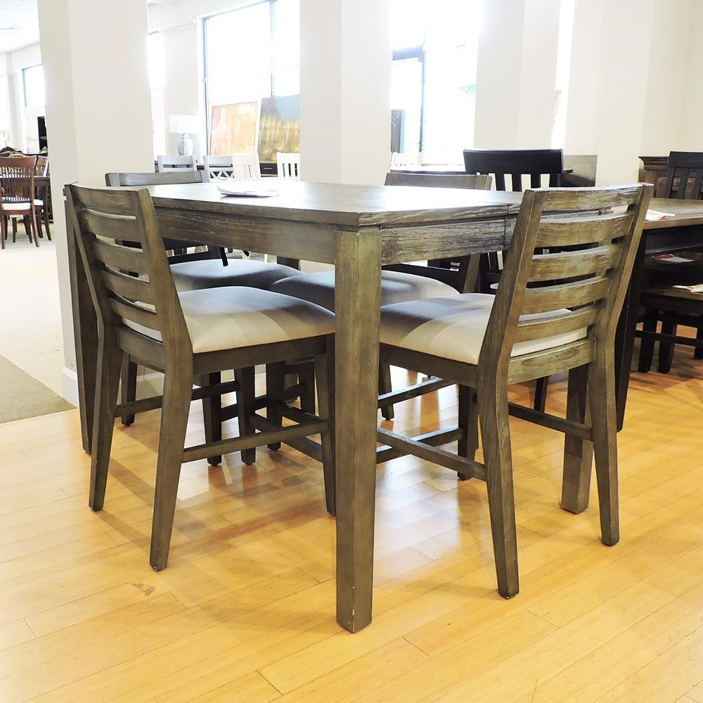 Counter Table with 4 Stools