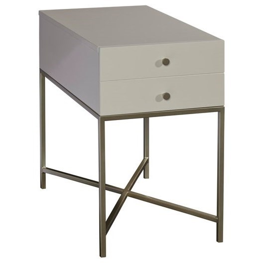 Delaney Chairside Table by Palliser at Stoney Creek Furniture