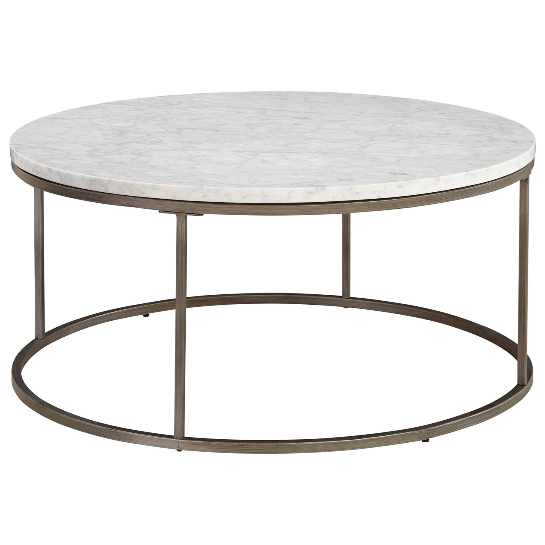 Black Marble Coffee Table Canada: Casana Julien Round Cocktail Table With Marble Top
