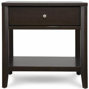Belfort Select East Gate End Table, 1 Dwr.