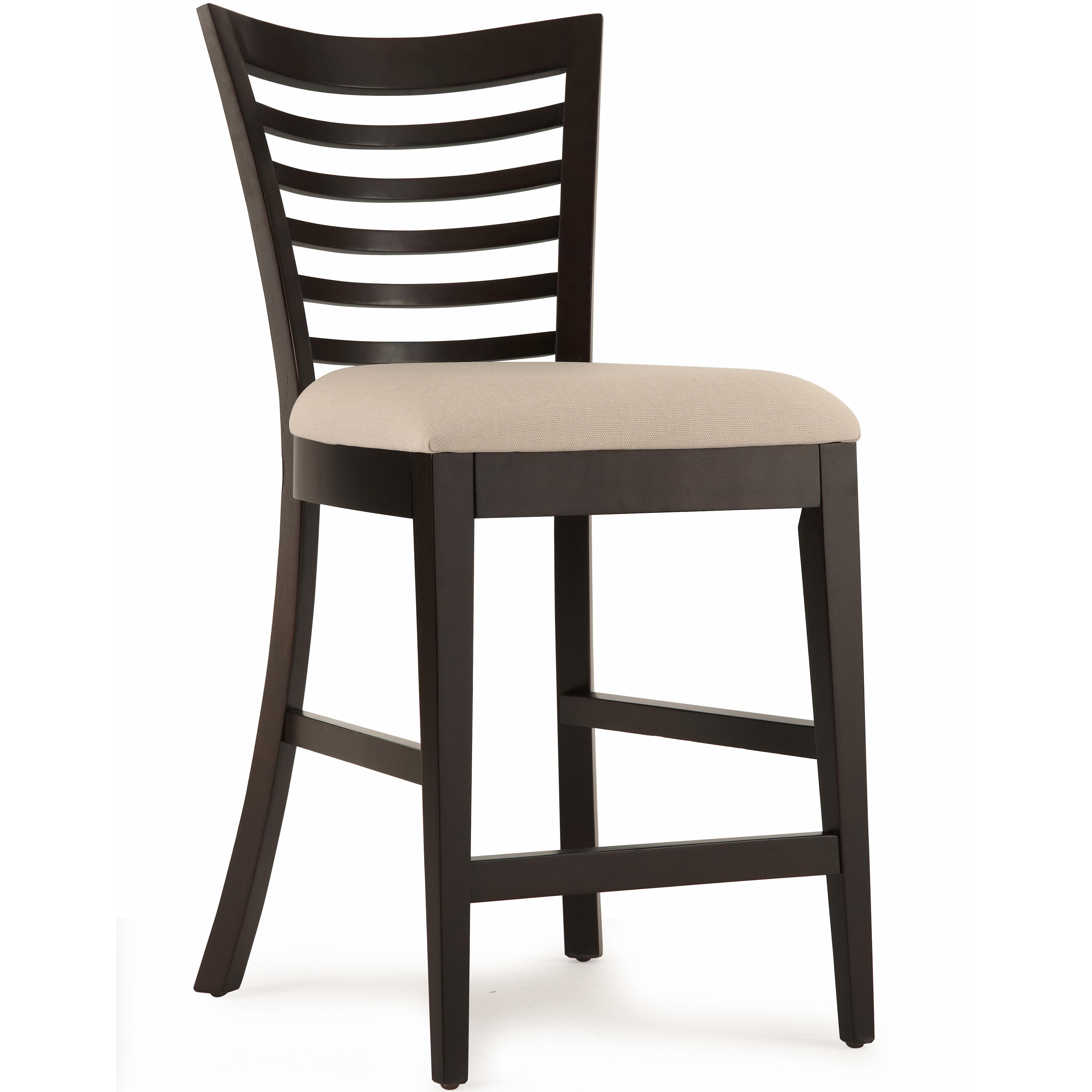 Belfort Select East Gate Open Slat Back Cafe Chair - Item Number: 355-140