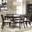 Belfort Select East Gate 7-Pc. Table and Chair Set with Removable Table Leaf