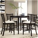 Belfort Select East Gate 5-Pc. Cafe Table and Chairs