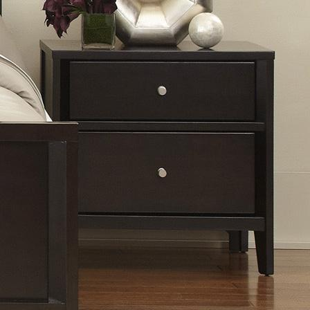 Belfort Select East Gate Night Stand, 2 Dwr. - Item Number: 355-432