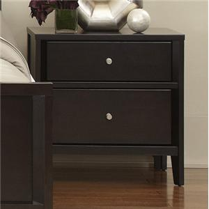 Belfort Select East Gate Night Stand, 2 Dwr.