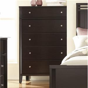 Belfort Select East Gate Chest, 5 Dwr.