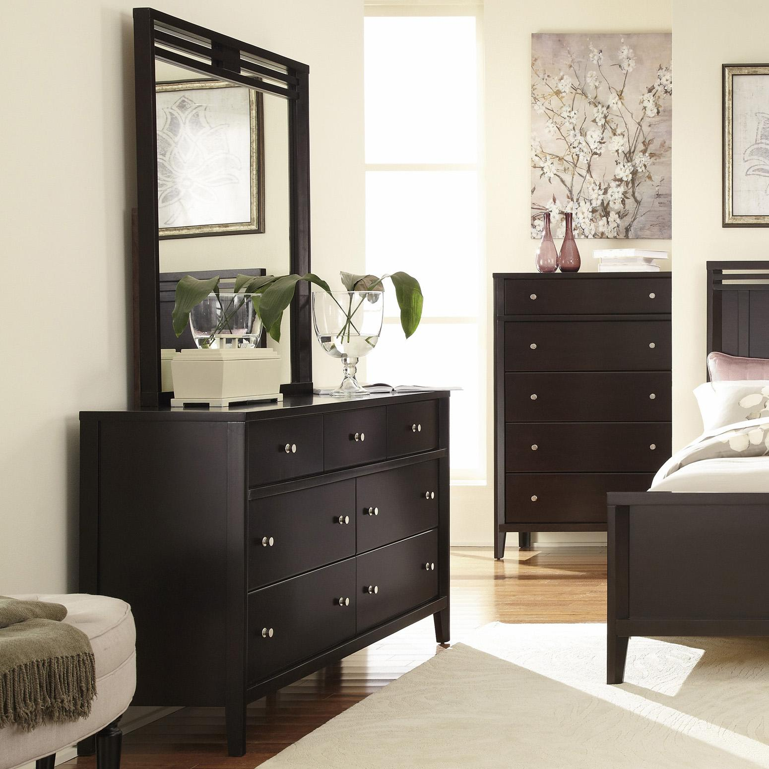 Belfort Select East Gate Dresser, 7 Dwr. & Mirror - Item Number: 355-457+401
