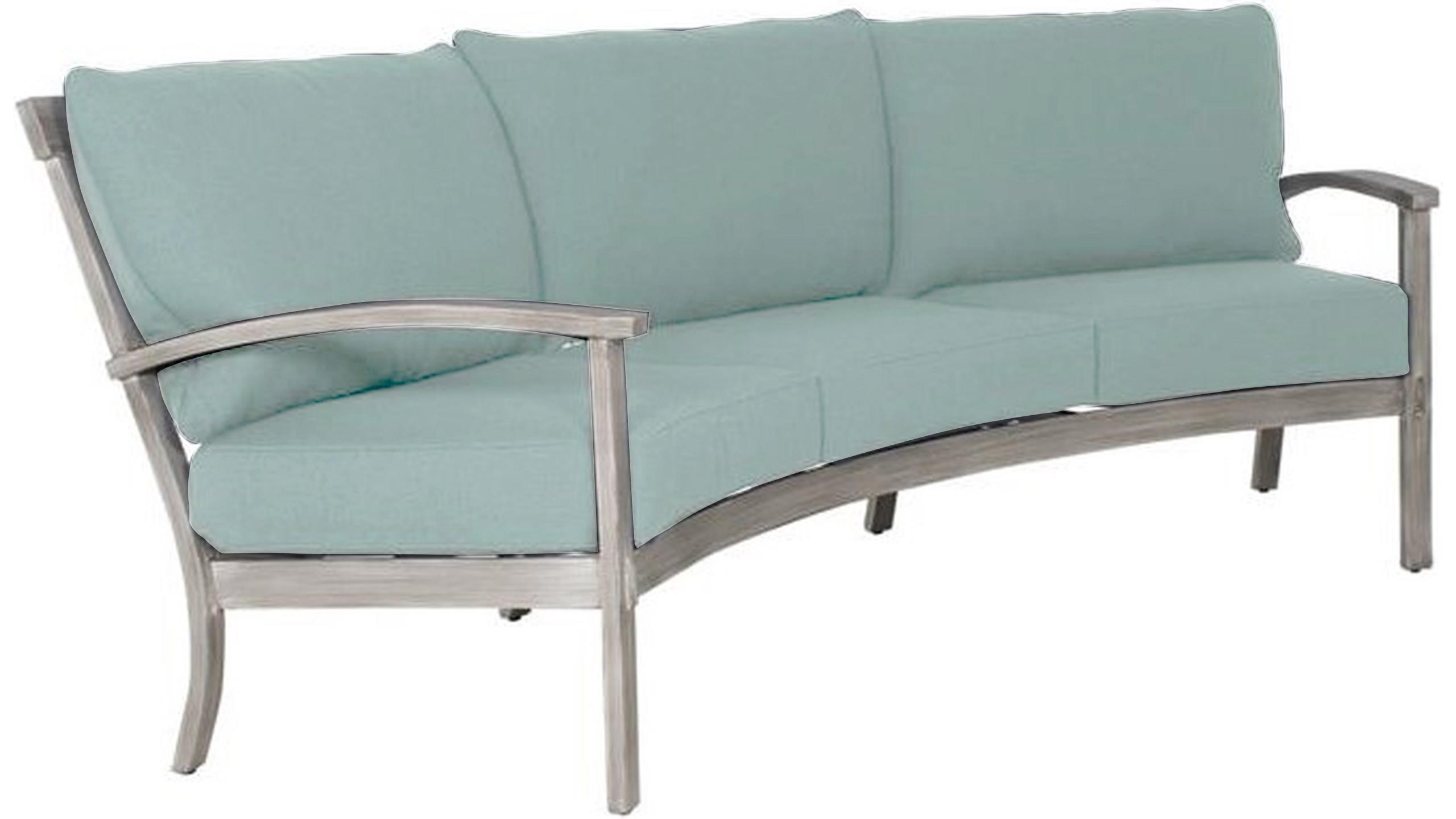 Antler Hill Crescent Sofa by Castelle by Pride Family Brands at Johnny Janosik