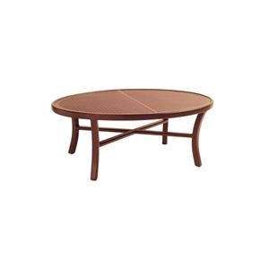 Castelle by Pride Family Brands Belle Epoque 2016 Transitional Elliptical Cocktail Table