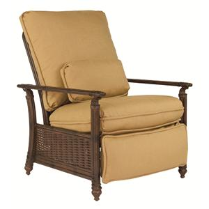 Castelle by Pride Family Brands Coco Isle 3 Position Cushioned Recliner Chair