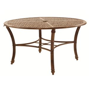 """Castelle by Pride Family Brands Coco Isle 54"""" Round Dining Table"""