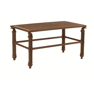 "Castelle by Pride Family Brands Coco Isle 34"" x 18"" Small Rectangular Coffee Table"