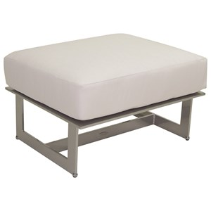 Castelle by Pride Family Brands Eclipse Sectional Lounge Ottoman